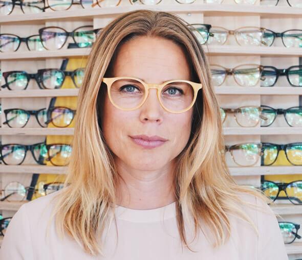 Ida Malmblad barnoptiker och expert på barn glasögon