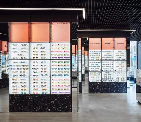 Et unikt udvalg af solbriller