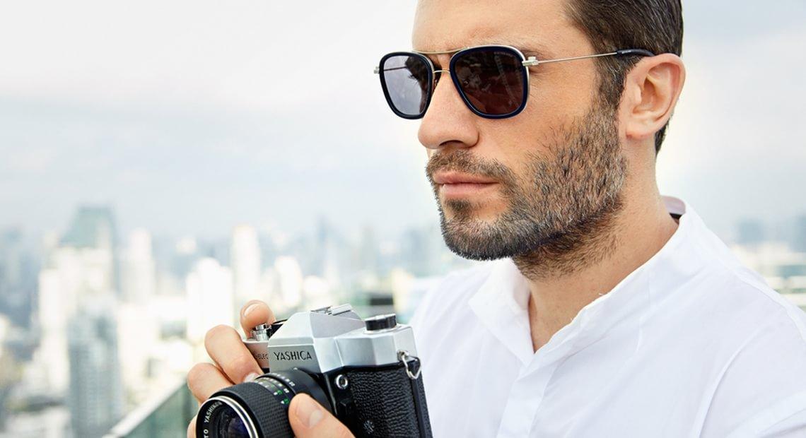 solglasögon skyddar ögonen mot farlig UV-strålning
