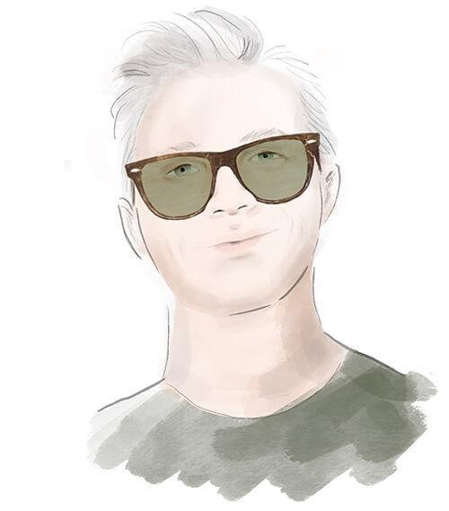 Solglasögon till runt ansikte