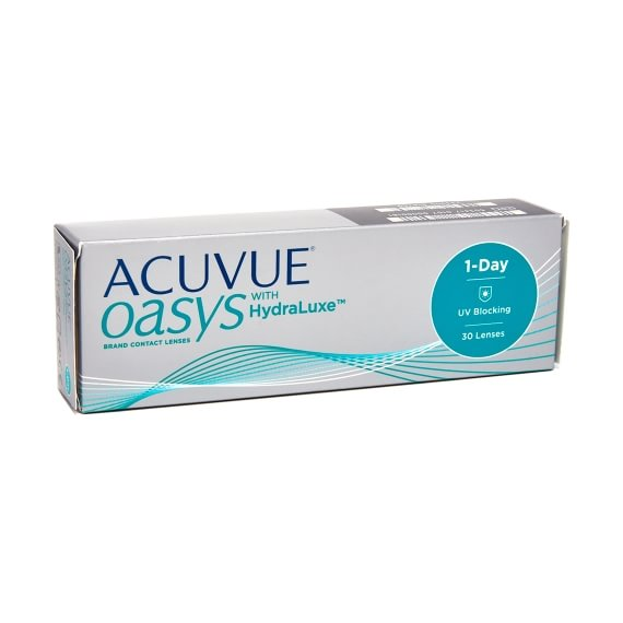 Acuvue Oasys 1-Day with HydraLuxe 30 linser