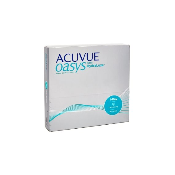 Acuvue Oasys 1-Day with HydraLuxe 90 linser