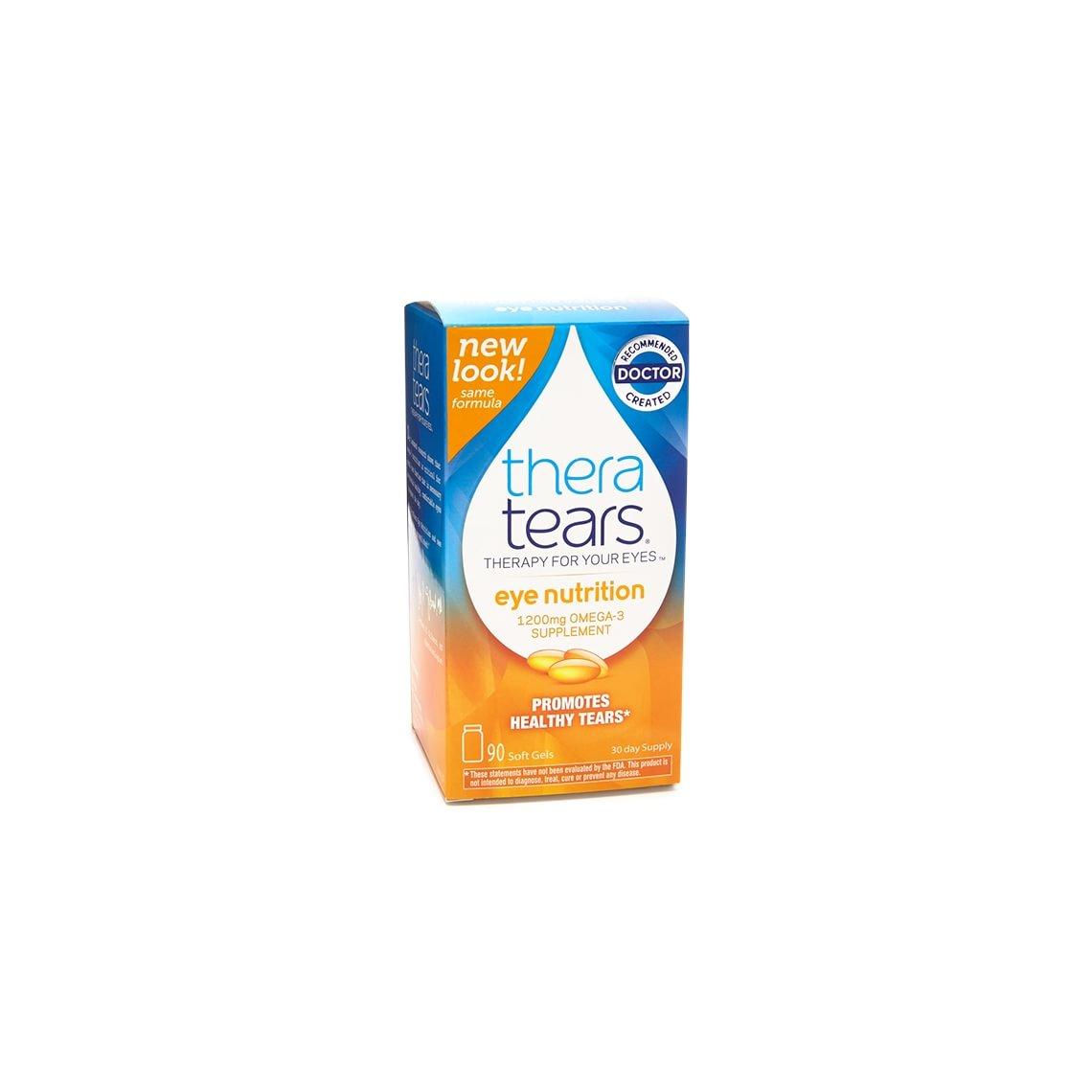 Thera Tears Nutrition Omega-3 Supplement (90 kapsler)