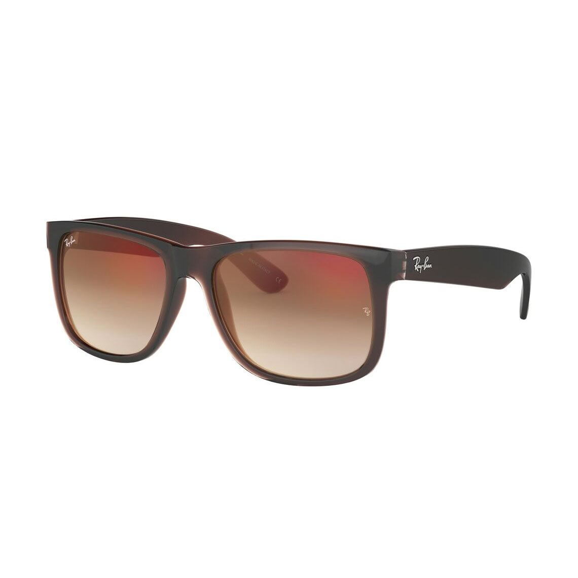 Ray-Ban Justin Flash gradient lenses RB4165 714/S0 55