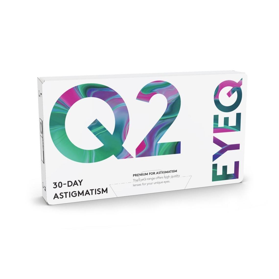 EyeQ Premium For Astigmatism Q2 3 pcs/box