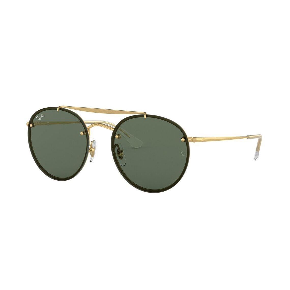 Ray-Ban Blaze Round Double Bridge RB3614N 914071 5418