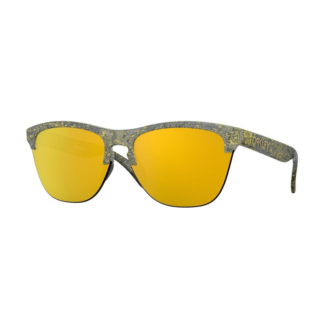 Oakley Frogskins Lite Metallic Splatter Collection 24k Iridium OO9374-3063
