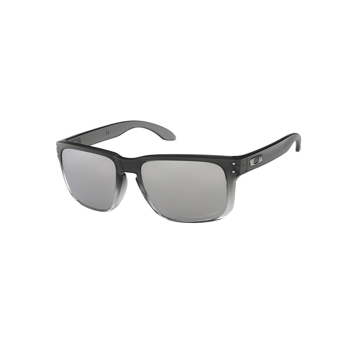 Oakley Holbrook Dark Ink Fade Chrome Iridium Polarized OO9102-A955