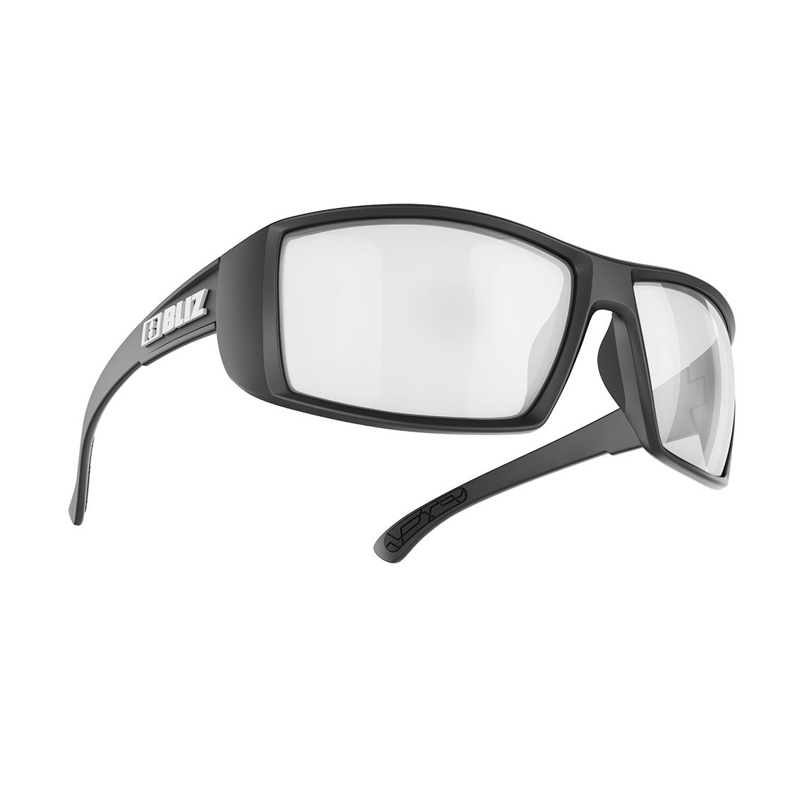 Bliz Brown w Silver Mirror Polarized Drift Black